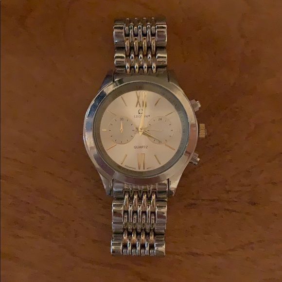 Legion stainless steel watch!